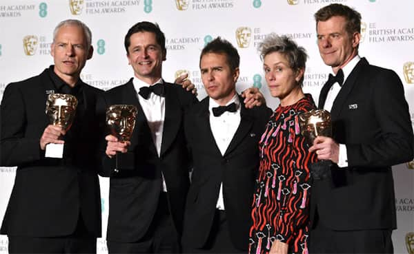 BAFTA Awards 2018 FULL Winners List