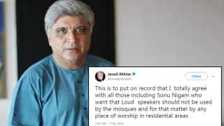 Javed Akhtar Supports Sonu Nigam and Speaks Against Loudspeakers in Mosques, Fuels Another Debate on Twitter