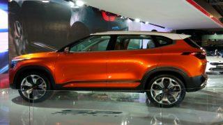 Auto Expo 2018: Kia SP Concept Unveiled in India