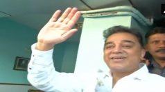 कमल हासन ने अपनी पार्टी की घोषणा की, 'मक्कल नीधि मय्यम' रखा नाम