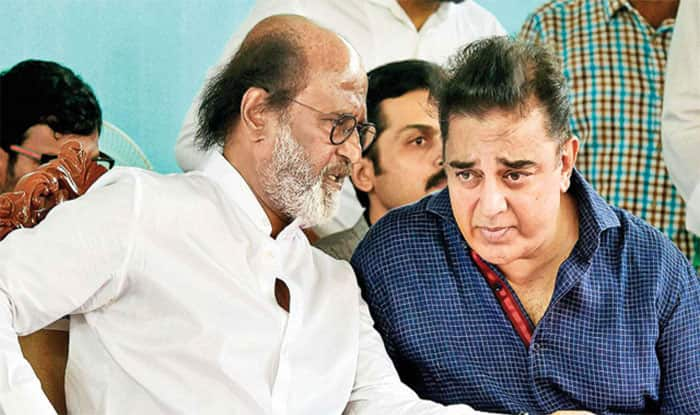 Kamal Haasan and Rajinikanth (File photo)