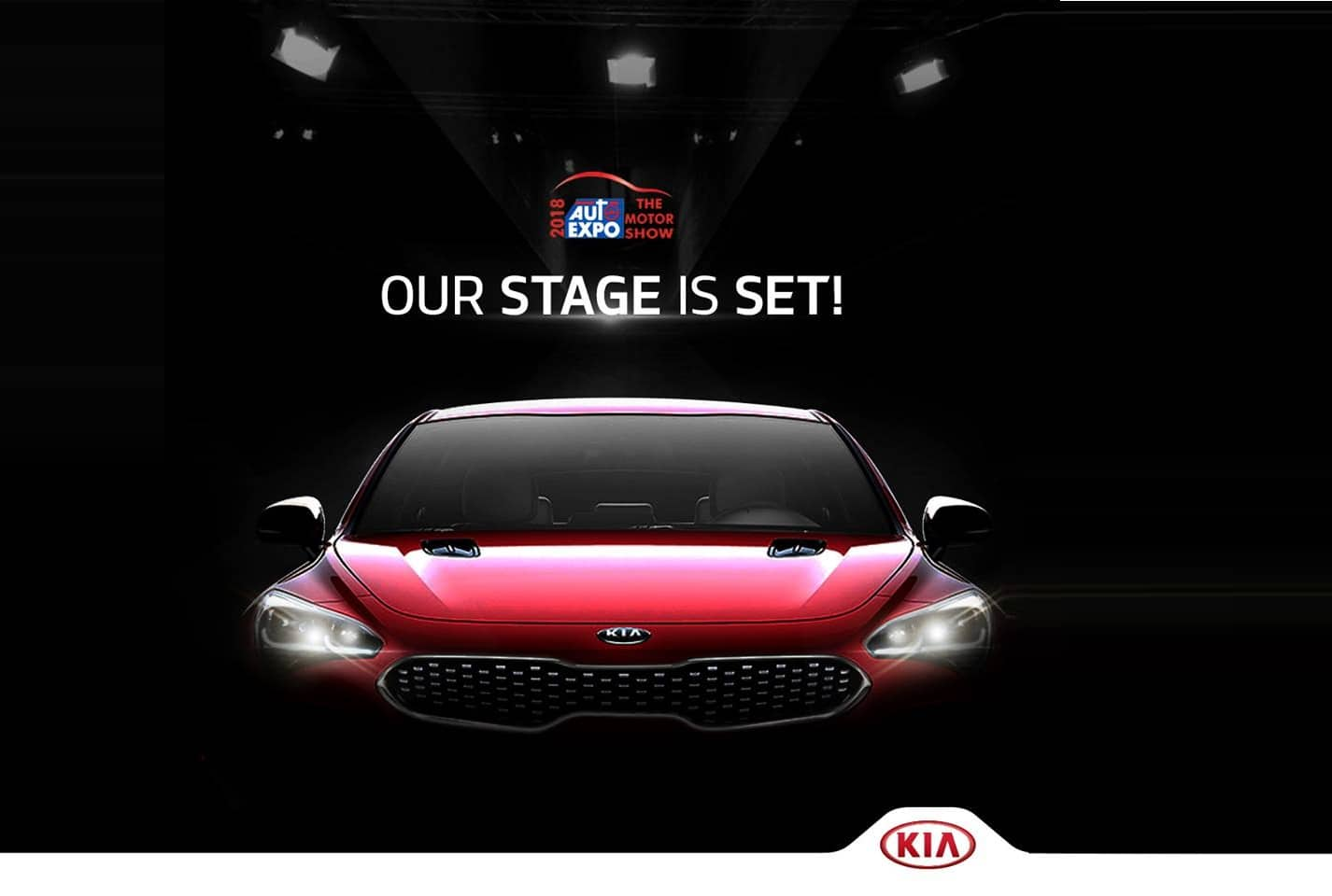 Kia motors at auto expo 2018 live streaming watch the for Motors tv live stream