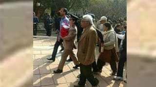 Major Kumud Dogra's Picture Marching at Husband's Funeral in Army Uniform Carrying 5-day-old Baby Goes Viral, Twitterati Salutes her Courage