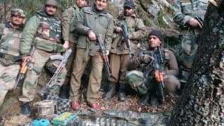 कश्मीरः कुपवाड़ा के जंगल में आतंकियों के ठिकाने पर सेना का धावा, बड़ी साजिश नाकाम