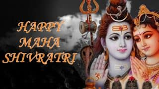 Mahashivratri 2018: Best Wishes, Quotes, SMS, WhatsApp Forwards, Facebook Status and GIF Which You Can Send to Celebrate the Festival Dedicated to Lord Shiva and Goddess Parvati