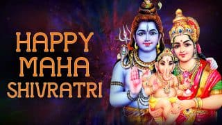 Mahashivratri 2018: Best Bhajans and Devotional Songs to Pray to Lord Shiva and Goddess Parvati on Shivratri