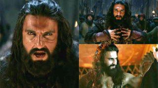 Making of Khalibali: Here Is BTS video of Ranveer Singh Rehearsing For Padmaavat's Song Khalibali