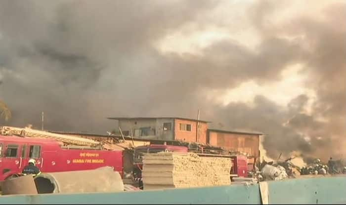 Level IV fire breaks out at Mankhurd; No casualites reported
