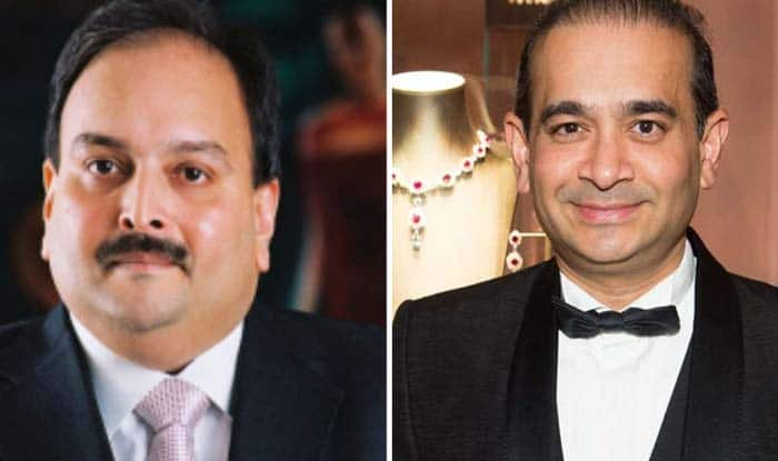 Mehul Choksi and Nirav Modi (File image)