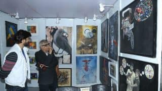 अंतरराष्ट्रीय कला मेले ने कलाकारों और कला प्रेमियों को मिलाया