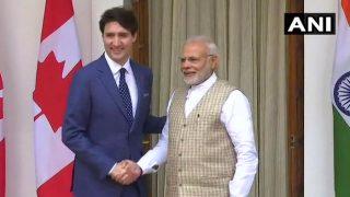 PM नरेंद्र मोदी से जस्टिन ट्रूडो की अहम मुलाकात, हैदराबाद हाउस में प्रतिनिधि स्तर की वार्ता