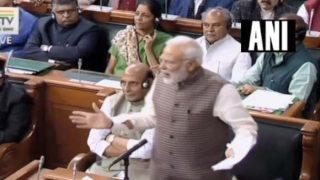 PM Narendra Modi Speaks in Lok Sabha Amid Opposition's 'Jhutha Bhashan Bandh Karo' Sloganeering: Top Quotes