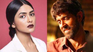 Super 30: Mrunal Thakur Pens Heartfelt Note For Co-Star Hrithik Roshan, Calls Him Her 'Superhero'