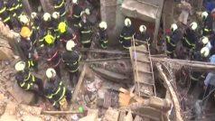 मुंबई के वडाला में बिल्डिंग ढही, बचाव कार्य जारी