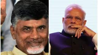 Chandrababu Naidu Sits on Fast Against Modi Govt, PM Wishes Andhra CM on His Birthday