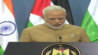 India Hopes to See Independent Palestine State Soon, Says PM Modi in Joint Statement: Highlights