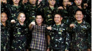 अमेरिका के नेतृत्व में फिलीपींस किसी युद्ध में हिस्सा नहीं लेगा: दुतेर्ते