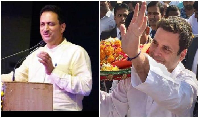 केंद्रीय मंत्री अनंत कुमार हेगड़े, राहुल गांधी