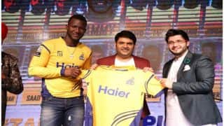पाकिस्तान सुपर लीग में कपिल शर्मा के चुटकुलों ने किया लोट-पोट, चौके- छक्कों से पहले गूंजे हंसी के ठहाके