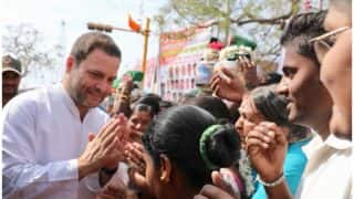 Congress Chief Rahul Gandhi to Campaign in Karnataka From Today