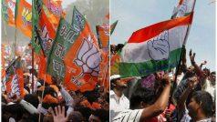 गुजरात पंचायत चुनाव नतीजे Live: BJP- 37, कांग्रेस- 26 सीट पर आगे