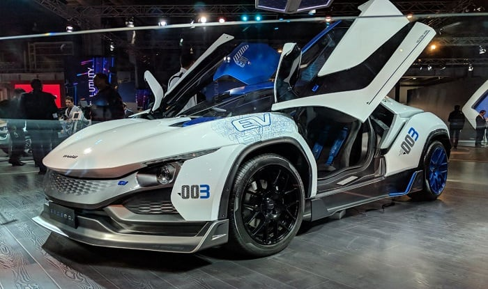 Tamo RaceMo Makes Indian Debut at 2018 Auto Expo