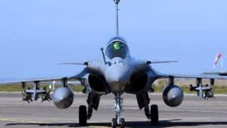Air Force Gets New Wing as 5 Rafale Jets Arrive at Ambala Airbase From France, Rajnath Says 'Beginning of New Era'