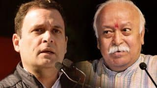 Rahul Gandhi Hits Out at RSS Chief Mohan Bhagwat, Calls His Speech an Insult to Every Indian