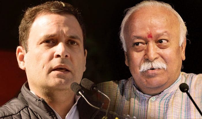 Opposition targets RSS over Mohan Bhagwat's Army remarks