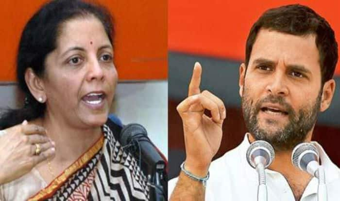 'You Need to Start From ABCs': Sitharaman Hits Back at Rahul For Demanding Her Resignation Over Rafale Charges