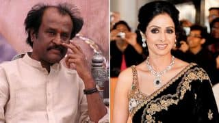 Sridevi Funeral: Rajinikanth Reaches Mumbai For The Actress' Last Rites