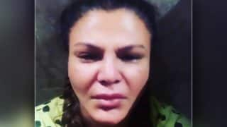 Reality TV Star Rakhi Sawant Pays Tribute to Bollywood Icon Sridevi, Shares a Video of Her in Tears