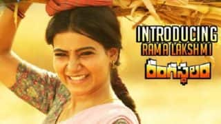Rangasthalam Teaser : Samantha Ruth Prabhu As A Village Belle Is Here To Steal Your Hearts