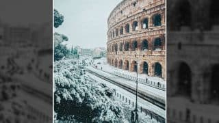 Rome Experiences its First Snowfall in 6 Years and the Pictures are Truly Breathtaking and Mesmerizing
