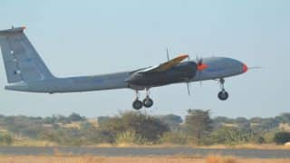 DRDO Successfully Tests Flight Rustom-2 at Aeronautical Test Range in Karnataka's Chitradurga
