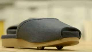 Nissan Made Futuristic Self-driving Slippers That Can Park Themselves At a Push of a Button