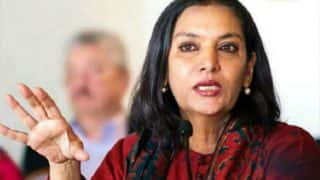 Anyone Criticising Government is Immediately Branded as Anti-national: Shabana Azmi