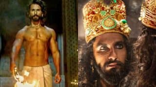 Ranveer Singh Gives A Befitting Reply To Shahid Kapoor's 'Outsider' Comment On Padmaavat Sets
