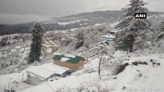 जम्मू-कश्मीर, उत्तराखंड और हिमाचल में ताजा स्नोफॉल के बाद बढ़ी ठंड