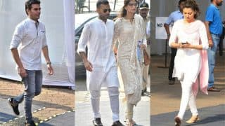 Sridevi Condolence Meet: Sonam Kapoor, Anand Ahuja, Arbaaz Khan, Farah Khan Arrive At Celebrations Club To Pay Their Last Respects