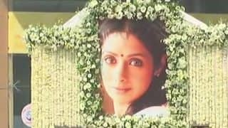 Sridevi, Draped in Red Saree & Tricolour, Cremated in Mumbai Amid Teary-Eyed Fans, Family, Friends And Bollywood Colleagues