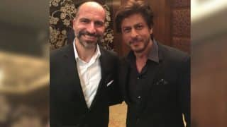 Uber CEO Dara Khosrowshahi Meets King Khan Shah Rukh Khan, Tweeple Can't Stop Talking About It