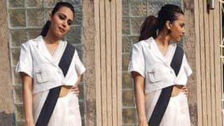 Swara Bhasker's Experiment With A Saree Flops; Trolled