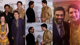 When Shah Rukh Khan And Other B-Town Celebs Met Canadian PM Justin Trudeau And Family - See Pics