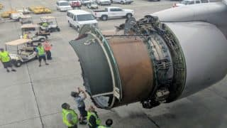 United Airlines Plane's Engine Cover Comes Off Mid-air; Flight Safely Lands in Honolulu