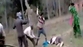 पति को बचाने के लिए पत्नी ने दिखाया गजब का साहस, मैदान छोड़ भागे बदमाश, देखें वायरल वीडियो