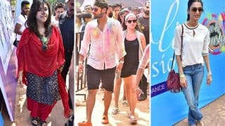 Holi 2018 : Ekta Kapoor Hosts A Fun Filled Bash ; Shabir Ahluwalia, Kanchi Kaul, Erica Fernandes Attend - View Pics