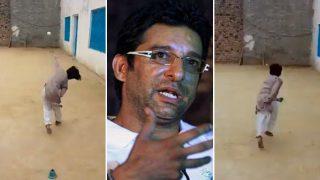 Pakistani Kid's Amazing Bowling Skills Impress Wasim Akram (Watch)