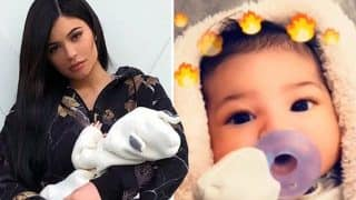 Kylie Jenner Shares First Photo of Daughter Stormi, Twitterati Feels She Looks Exactly Like Her Mother