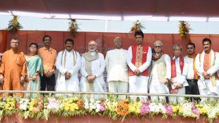 Biplab Deb Sworn in as Tripura Chief Minister, Jishnu Debbarma His Deputy